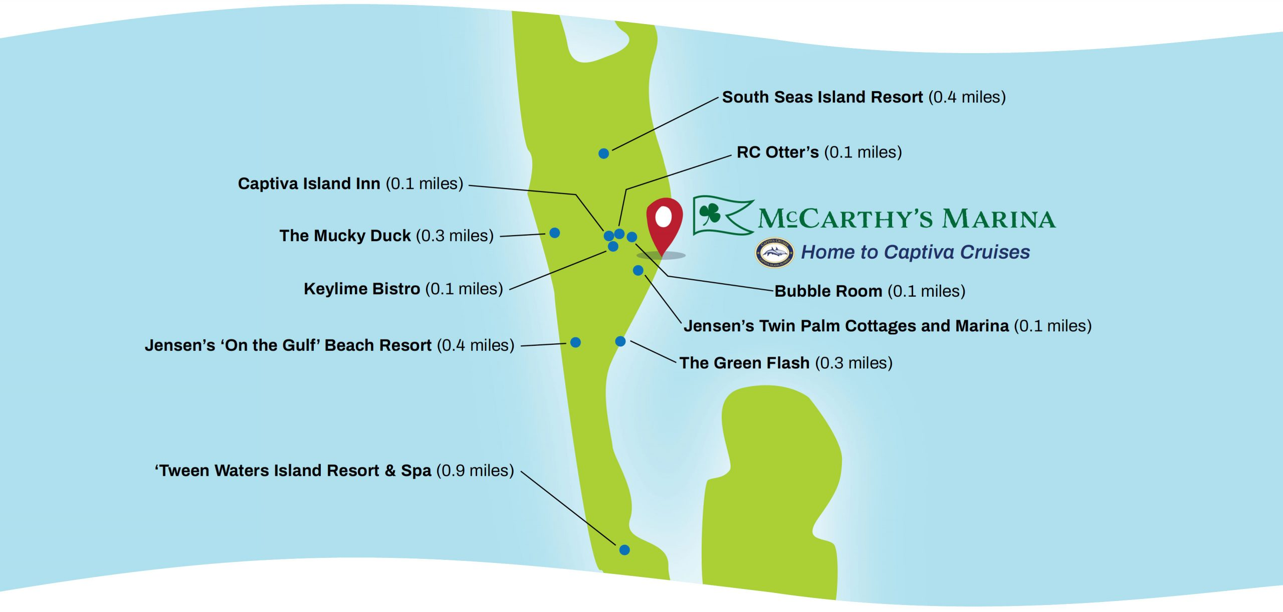 Map for McCarthy's Marina